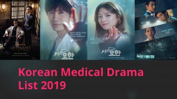 2019 Korean Medical Drama Series List You Should Know
