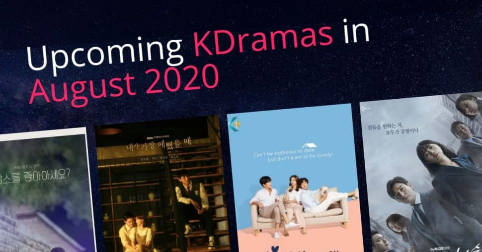 Kdrama August 2020 Ver2