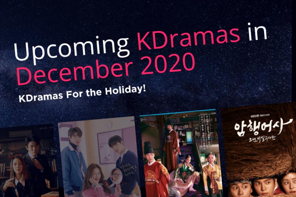 Kdramas In December 2020