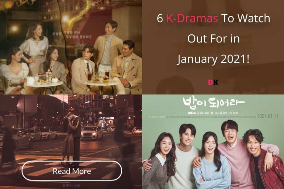 6 K Dramas To Watch Out For In January 2021!