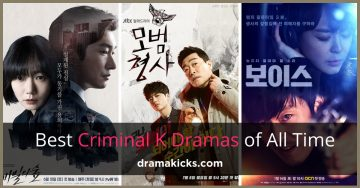 15 of the BEST Korean Crime Dramas of All Time!