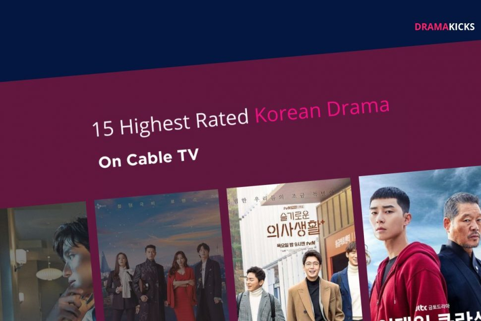 Highest Rated Korean Drama On Cable Tv