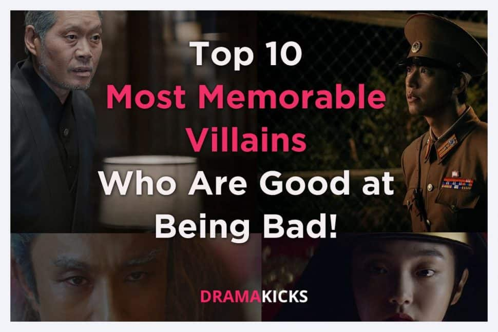 top 10 most memorable villains who are good at being bad!